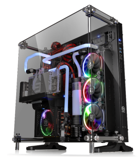 Thermaltake Core P5 Tempered Glass Edition ATX Wall-Mount Chassis Unveiled
