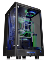 """Thermaltake New The Tower 900 E-ATX Vertical Super Tower Chassis Series Design collaboration with Watermod France CaseMod Craftsmanship & Innovation Excellence Taipei, Taiwan-November 25th 2016- Thermaltake, a leading brand in the Case MOD market, with Watermod France today officially launched its first TT Premium modder edition chassis series – The Tower 900 E-ATX Vertical Super Tower Chassis and The Tower 900 Snow Edition E-ATX Vertical Super Tower Chassis. This collaboration signifies a breakthrough in the casemod market, and Thermaltake delivers with excellent craftsmanship, materials, and design innovation. The Tower 900 series features a vertical mounting design, high quality 5mm thick tempered glass panels, and unrivaled expansion capabilities for massive custom liquid cooling systems. Designed in collaboration with Watermod France, The Tower 900 series represents Thermaltake's passion for innovation, the spirit of Watermod France, and our vision to provide enthusiasts more chassis designs to build in a new era of modding culture. Thermaltake and Watermod Deliver CaseMod Craftsmanship & Innovation Excellence Commenting on the design collaboration, Mathieu Heredia, creator of The Tower and co-founder of Watermod France noted, """"Every time I mod, I try to do something different from my other friends and modders. Especially when I was invited to the 2015 Thermaltake CaseMOD Invitational Season 2, I completely rethought the Core X9 and wanted to build something with a unique design but fully functional. The end result was The Tower. I would have never imagined that Thermaltake really understood the same spirit of this project and decided to mass produce it. I want to say it came as a shock, and for that I thank Thermaltake again. I hope that this design collaboration will be a great success!"""" """"At Thermaltake, we have positioned ourselves as a key player in the Casemod market. We are always on the lookout for modding enthusiasts whose spirit is consistent with our """