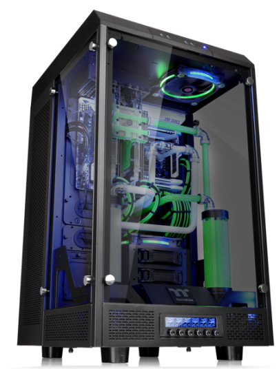 """Thermaltake New The Tower 900 E-ATX Vertical Super Tower Chassis Series Design collaboration with Watermod France CaseMod Craftsmanship & Innovation Excellence  Taipei, Taiwan-November 25th 2016- Thermaltake, a leading brand in the Case MOD market, with Watermod France today officially launched its first TT Premium modder edition chassis series – The Tower 900 E-ATX Vertical Super Tower Chassis and The Tower 900 Snow Edition E-ATX Vertical Super Tower Chassis. This collaboration signifies a breakthrough in the casemod market, and Thermaltake delivers with excellent craftsmanship, materials, and design innovation. The Tower 900 series features a vertical mounting design, high quality 5mm thick tempered glass panels, and unrivaled expansion capabilities for massive custom liquid cooling systems. Designed in collaboration with Watermod France, The Tower 900 series represents Thermaltake's passion for innovation, the spirit of Watermod France, and our vision to provide enthusiasts more chassis designs to build in a new era of modding culture.   Thermaltake and Watermod Deliver CaseMod Craftsmanship & Innovation Excellence Commenting on the design collaboration, Mathieu Heredia, creator of The Tower and co-founder of Watermod France noted, """"Every time I mod, I try to do something different from my other friends and modders. Especially when I was invited to the 2015 Thermaltake CaseMOD Invitational Season 2, I completely rethought the Core X9 and wanted to build something with a unique design but fully functional. The end result was The Tower. I would have never imagined that Thermaltake really understood the same spirit of this project and decided to mass produce it. I want to say it came as a shock, and for that I thank Thermaltake again. I hope that this design collaboration will be a great success!""""   """"At Thermaltake, we have positioned ourselves as a key player in the Casemod market. We are always on the lookout for modding enthusiasts whose spirit is consistent with"""