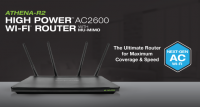 Amped Wireless ATHENA-R2 AC2600 Router Announced