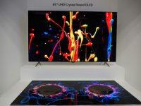 LG Display Crystal Sound OLED Displays Unveiled