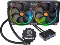 Thermaltake Water 3.0 Riing RGB 280 and Water 3.0 Riing Red 280&140 Liquid Coolers Introduced