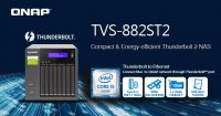 QNAP TVS-882ST2 Thunderbolt 2 NAS Launched
