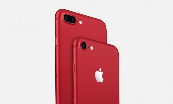 Apple iPhone 7 & iPhone 7 Plus (PRODUCT)RED Special Edition Smartphones Announced