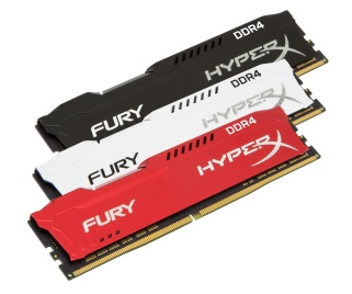 HyperX FURY DDR4 Memory Product Line Expanded