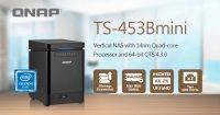 QNAP TS-453Bmini Vertical NAS Announced