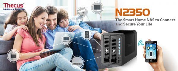 Thecus N2350 2-bay NAS Announced
