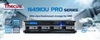 Thecus N4910U PRO NAS Series 4-Bay Rackmount Launched