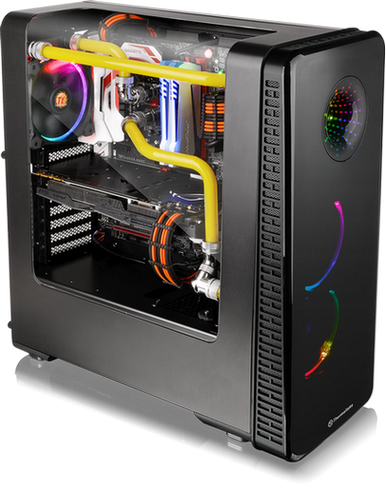 Thermaltake View 28 RGB Gull-Wing Window ATX Mid-Tower Chassis Launched