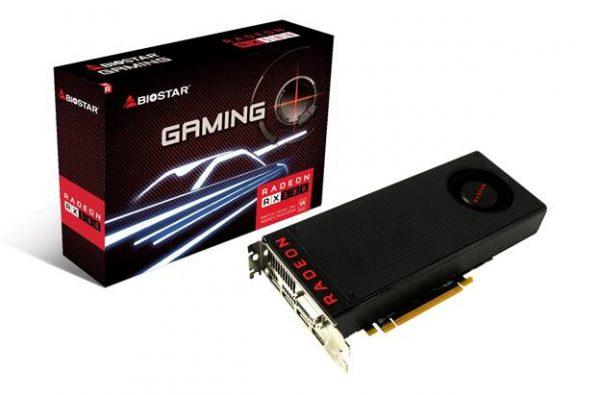 BIOSTAR RADEON RX 500 Series GPU Announced