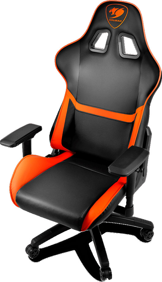 Admirable Cougar Armor Gaming Chair Review By Olin Coles Machost Co Dining Chair Design Ideas Machostcouk