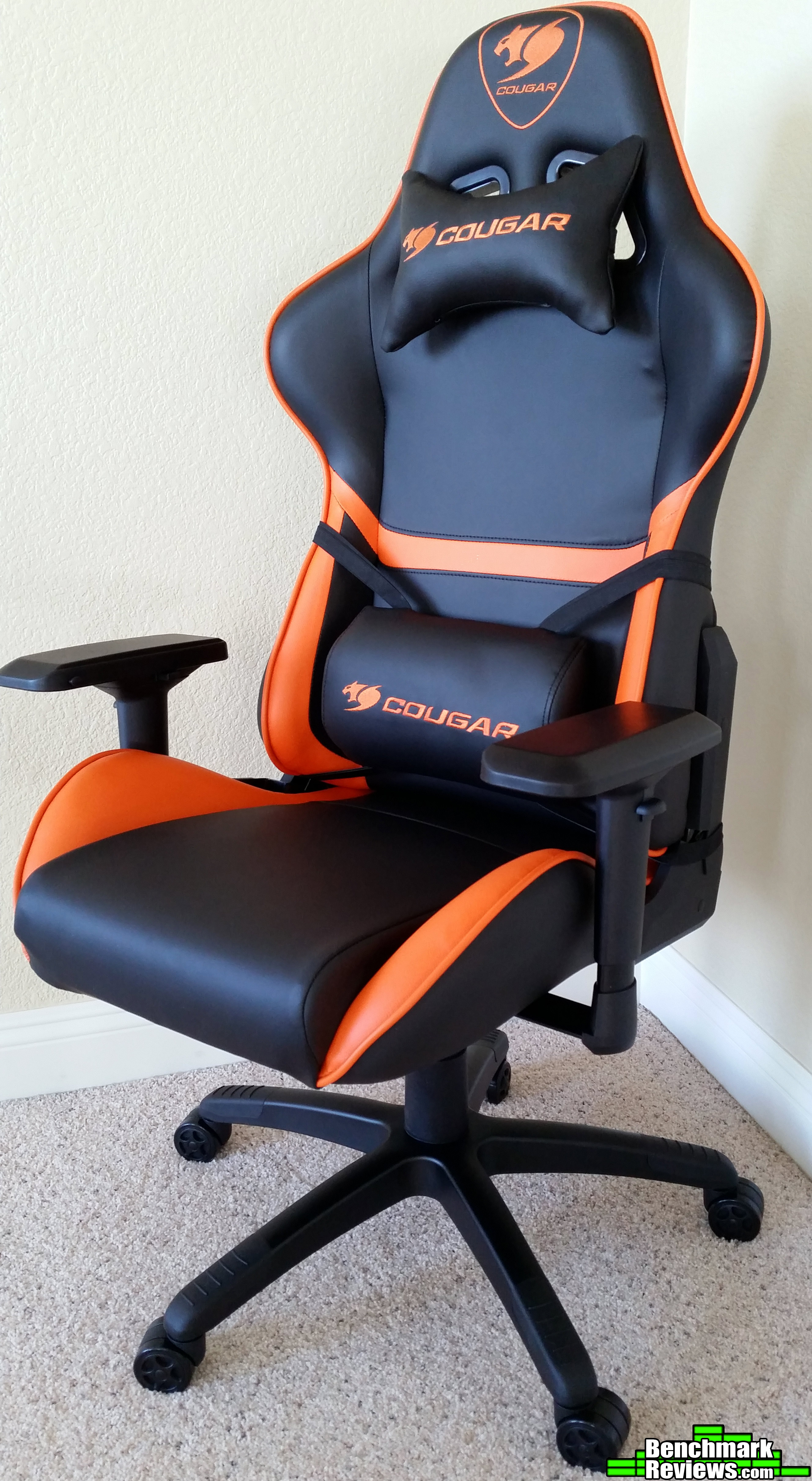 Pleasing Cougar Armor Gaming Chair Review By Olin Coles Andrewgaddart Wooden Chair Designs For Living Room Andrewgaddartcom