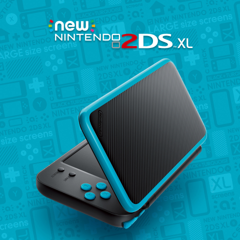 Nintendo 2DS XL Portable System Launched