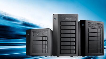 Promise Technology Pegasus3 M4 Thunderbolt 3 RAID Storage Debuts
