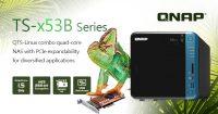 QNAP Quad-core TS-x53B Series NAS Released