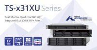 QNAP TS-x31XU Series Rackmount NAS Announced