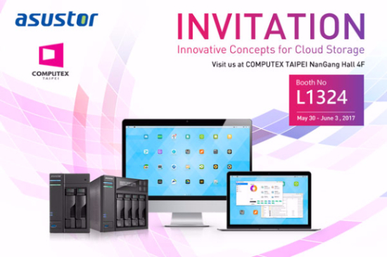 ASUSTOR AS6302T and AS6404T Tower Model NAS to Debut at Computex 2017