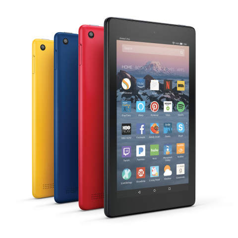 Amazon Fire 7 and Fire HD 8 Tablets Announced
