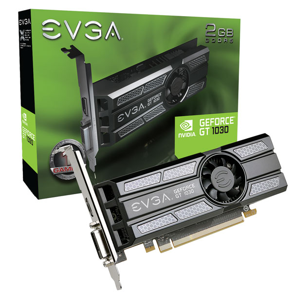 EVGA GeForce GT 1030 Graphics Card Announced