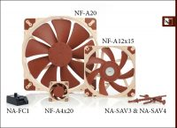 Noctua A-series Fans and Accessories Introduced