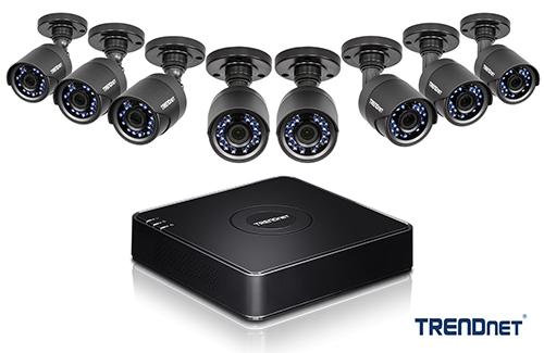 TRENDnet TV-DVR208K and TV-DVR104K DVR Surveillance Kits Launched