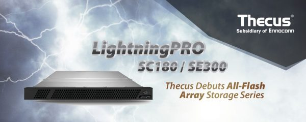 Thecus LightningPRO All-Flash Array Storage Series Debuts