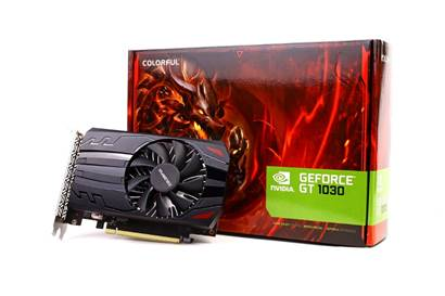 COLORFUL GT1030 2G Graphics Card Released
