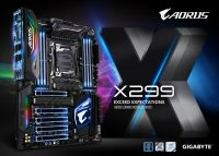 GIGABYTE X299 AORUS Gaming Motherboards Unveiled
