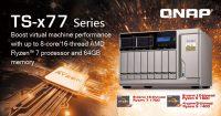 QNAP TS-x77 Ryzen-based NAS Unveiled