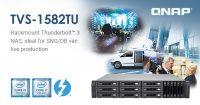 QNAP TVS-1582TU Thunderbolt 3 NAS Unveiled