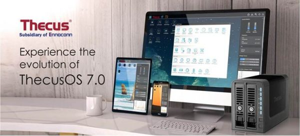 ThecusOS 7.0 NAS Operating System Updated
