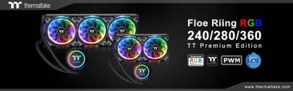 Thermaltake Floe Riing RGB TT Premium Edition Liquid Cooler Unveiled