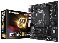 GIGABYTE Q270 and Q170 Series Motherboards Updated