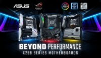 New ASUS X299 Motherboards Introduced