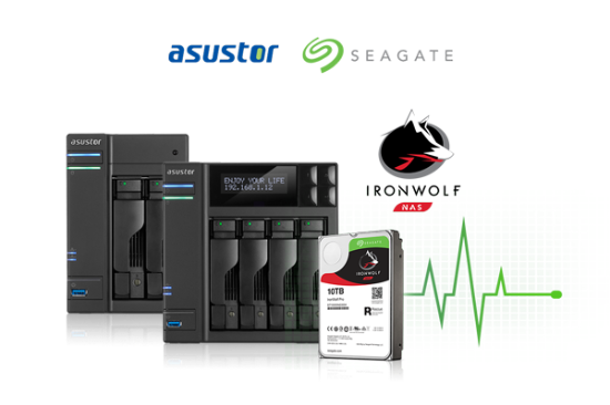 Seagate brings IronWolf Health Management to ASUSTOR NAS
