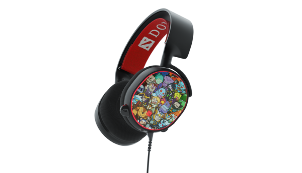 SteelSeries Introduces the Arctis 5 Dota 2 Edition Gaming Headset