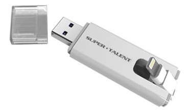 Super Talent TwoDrive Flash Drives Introduced