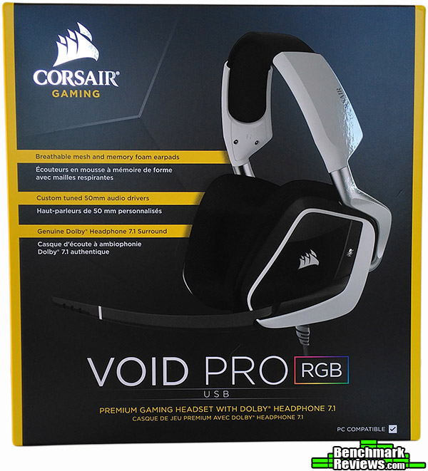 Corsair Void Pro RGB USB Dolby 7 1 Gaming Headset Review