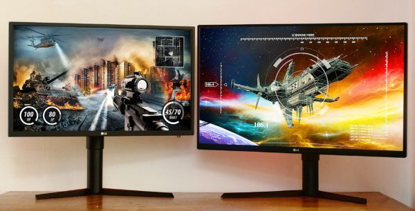 LG 27-inch GK monitor model 27GK750F