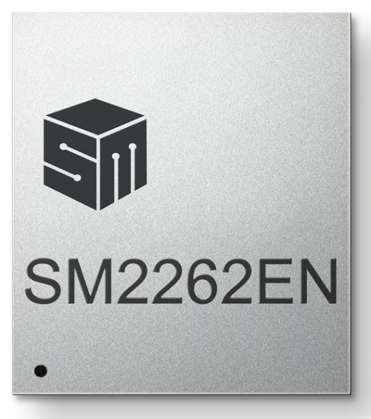 Silicon Motion SM2262en-front