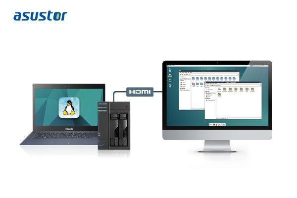 ASUSTOR Announces Linux Center