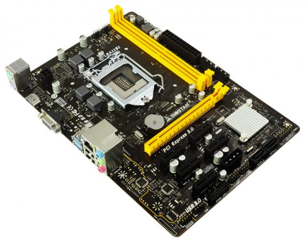 BIOSTAR H110M-BTC Micro-ATX Motherboard Debuts