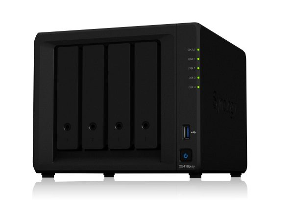 SynologyDiskStation DS418playIntroduced