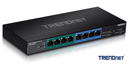 TRENDnet TPE-TG44ES EdgeSmart PoE+ Switch Launches