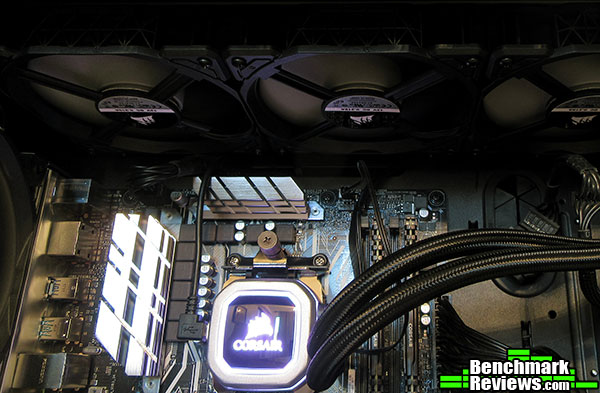 Corsair Hydro Series H150i Pro RGB AIO Liquid CPU Cooler Review