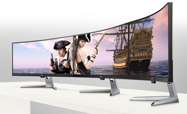 BenQ EX3501R Premium Eye-Care Gaming Monitor Debuts