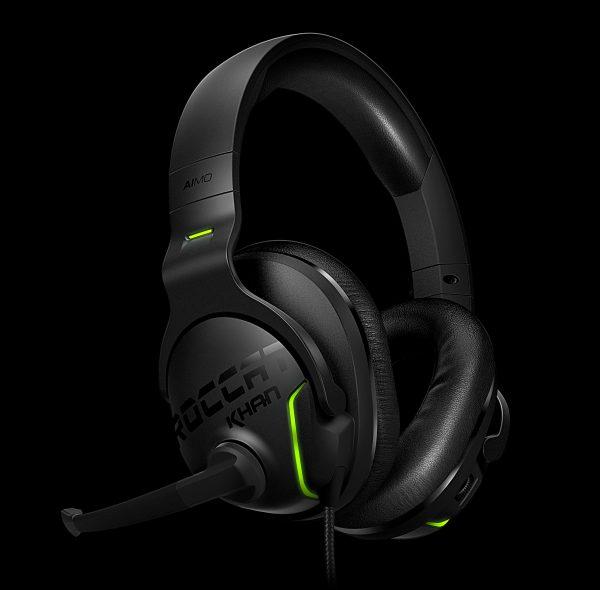ROCCAT Khan AIMO 7.1 RGB Gaming Headset Debuts