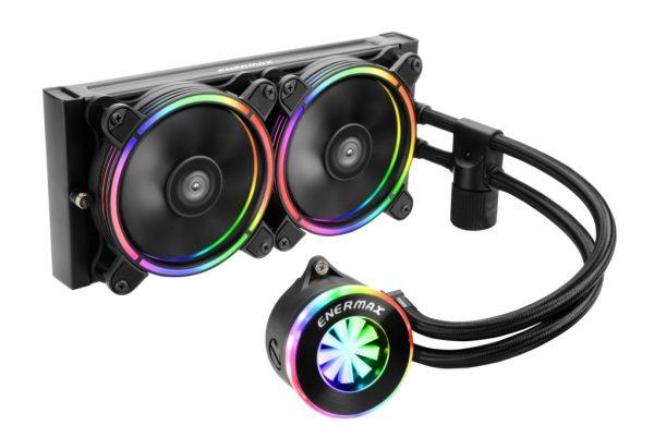 ENERMAX LIQFUSION RGB Liquid Cooler Debuts