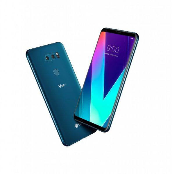 LG V30S ThinQ Smartphone Debuts