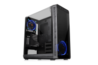 Thermaltake View 37 Riing Edition Mid-Tower Chassis features 2 built-in Riing 14 LED Blue fans